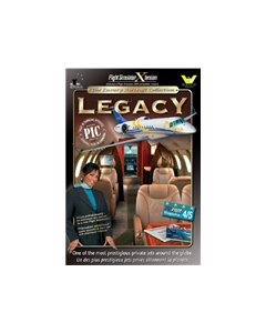 Cd-rom Legacy add-on for FSX/