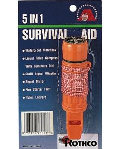 rothco 5 in 1 survival tool