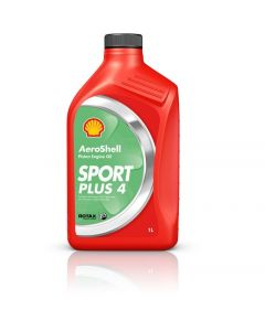 Aeroshell Oil Sport Plus 4 aviation Oil for 4 stroke engines