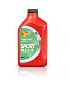 Aeroshell Oil Sport Plus 4 aviation Oil for 4 stroke engines