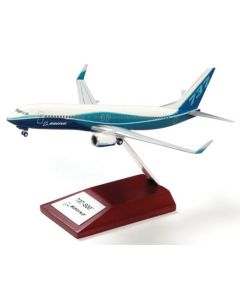 Boeing 737-800 Desk Top modell 1/200 scale med trefot