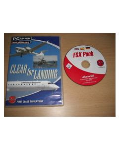 Cd-Rom Clear for Landing
