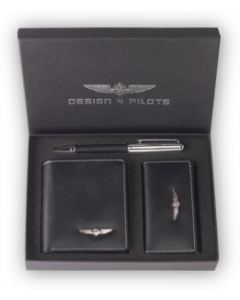 Design4Pilots Pilot Wallet set