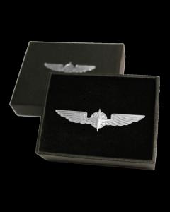 Design4Pilots Pilotving Sølv/gull 5cm