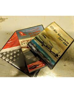 DVD 10 stk. forskjellige fly DVD'er (ikke valgbare)