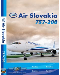 DVD Air slovakia 757-200