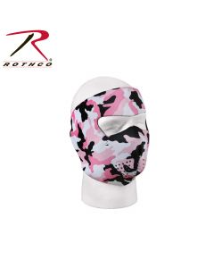 Neopren Facemask full Pink/Sort
