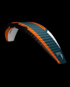 Flysurfer Soul1 - 9 komplett med Force bar/liner