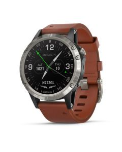Garmin D2 Delta Pilot Watch Leatherband 47mm