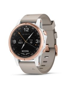 Garmin D2 Delta S Pilot Watch - leather band 42mm
