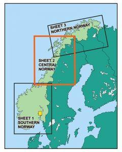 ICAO Norge Nord 2019 - Ferdig laminert