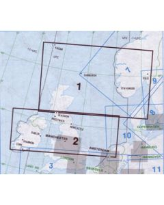 Jeppesen IFR Low enroute chart 1-2