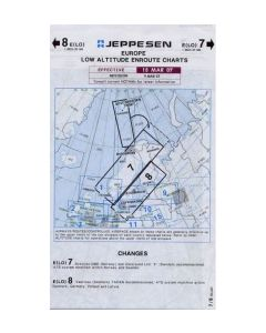 Jeppesen IFR Low enroute chart 7-8