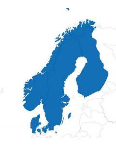 Jeppesen Jeppview VFR Scandinavia m/oppdateringer