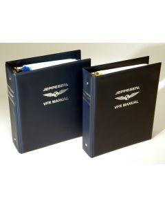 Jeppesen VFR Manual utg N komplett med rev/permer Scandinavia