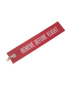 Nøkkelring Remove before Flight