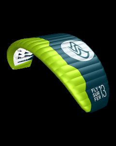 Flysurfer Peak 4 - 13 med Connect bar komplett - Helgetilbud