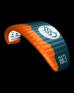 Flysurfer Peak4 - 5 med Connect bar/Liner demo