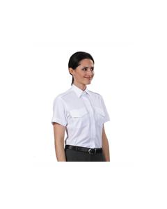 Pilotskjorte Van Heusen kort erm dame