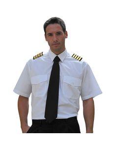 Pilotskjorte Hvite