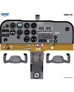 Plakat Cessna 172 Cockpit