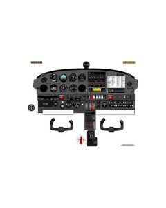 Plakat Piper Pa28 Cockpit