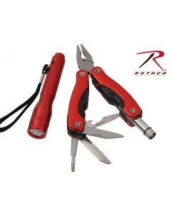 Rothco Multi tool/Lommelykt gavesett 865