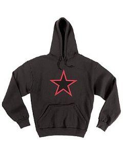 Rothco Hettegenser Hoddie RED STAR 9245