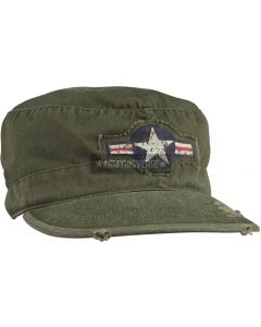 Rothco Skyggelue Vintage AIR CORP Fatigue Cap 4539