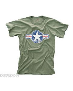 Rothco T-shirt ARMY AIR CORPS 66300 grønn