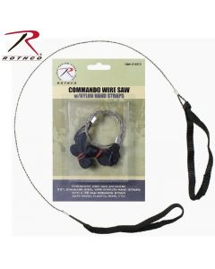 Rothco Commando Wire Saw with nylon hand staps
