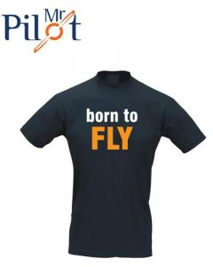 T-Shirt Born to fly