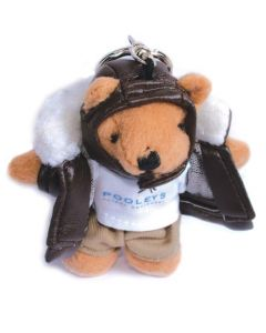 Nøkkelring Aviation Teddy Bear