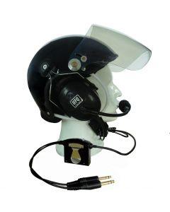 UflyQuiet hjelm med ANR headset